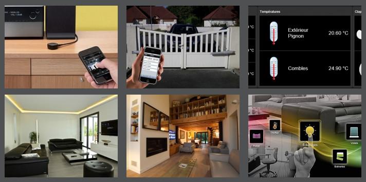 la maison connect e sd tech. Black Bedroom Furniture Sets. Home Design Ideas
